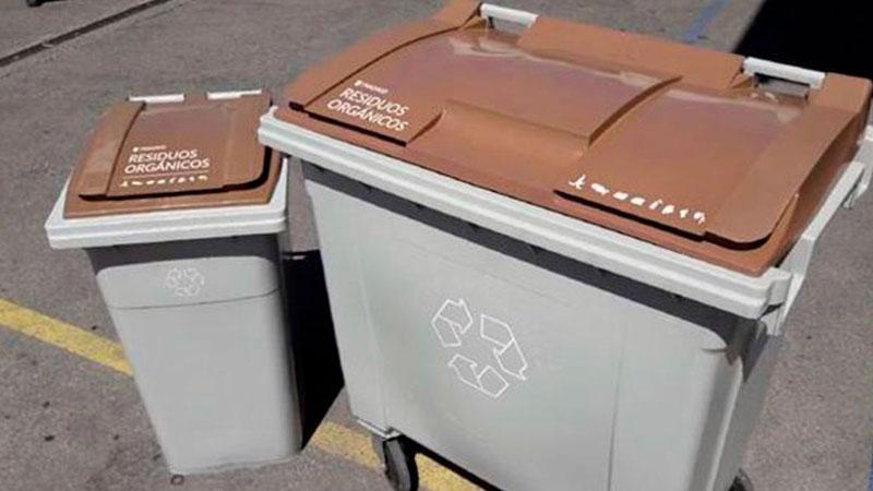 para que sirve el contenedor marron de basura organica y como se usa