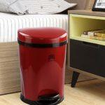 Ponpong-10-L-Cubo-de-Basura-con-Pedal-de-Reciclaje-para-Interiores-Color-Rojo-1-Paquete-0-5.jpg