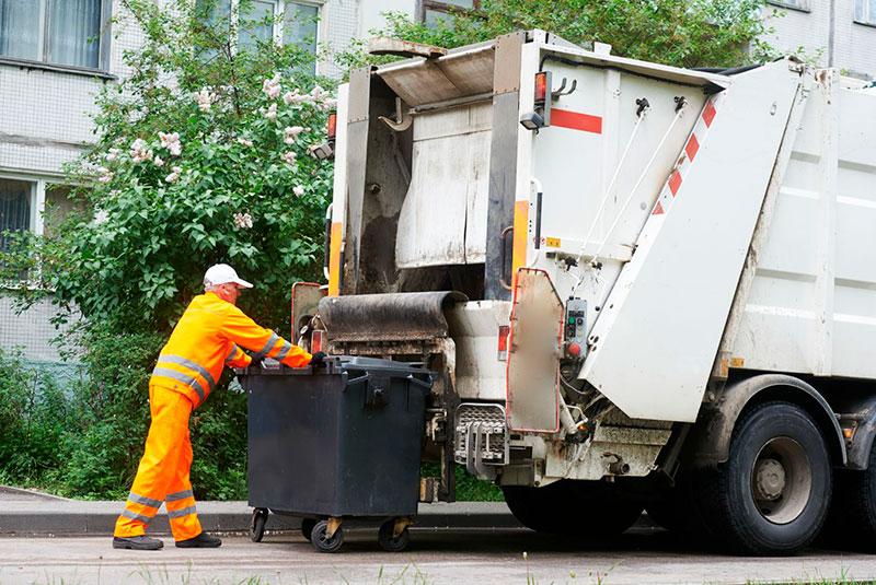 Servicios recogida decubos de basura