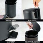 mDesign-Papelera-de-bano-Redonda-Cubo-metalico-de-5-litros-con-Pedal-tapadera-y-Cubo-Interior-de-plastico-Elegante-contenedor-de-residuos-de-Acero-para-bano-Cocina-y-Oficina-Negro-0-1.jpg