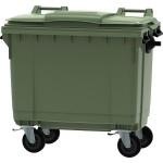 contenedor de basura 4 ruedas 660 l