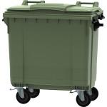 contenedor de basura 4 ruedas 800 l